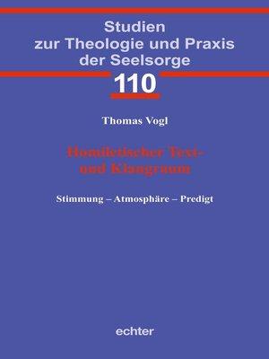 cover image of Homiletischer Text- und Klangraum