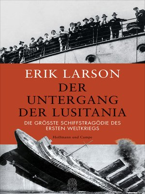 cover image of Der Untergang der Lusitania