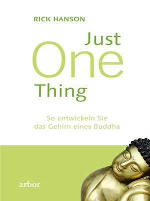 cover image of Just One thing