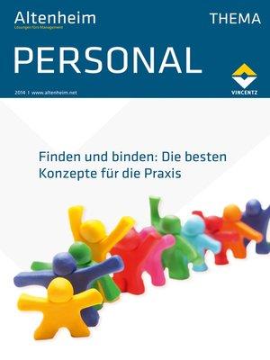 cover image of Altenheim Thema Personal