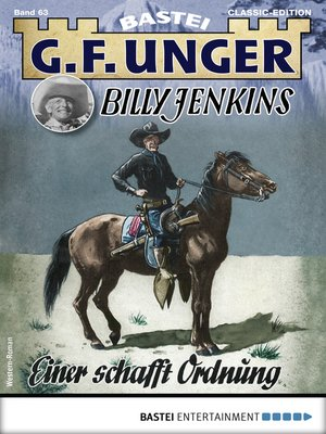 cover image of G. F. Unger Billy Jenkins 63--Western