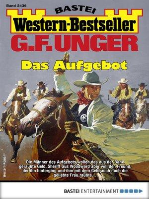cover image of G. F. Unger Western-Bestseller 2436--Western