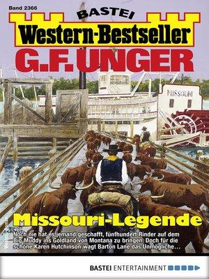 cover image of G. F. Unger Western-Bestseller 2366--Western
