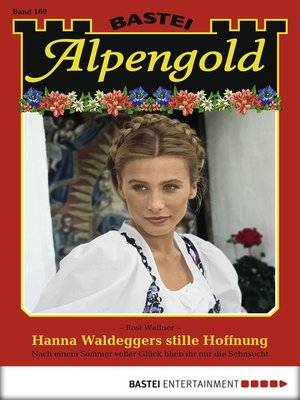 cover image of Alpengold--Folge 160