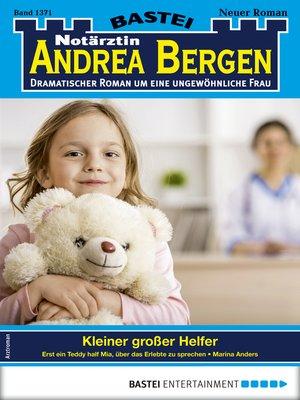 cover image of Notärztin Andrea Bergen 1371--Arztroman
