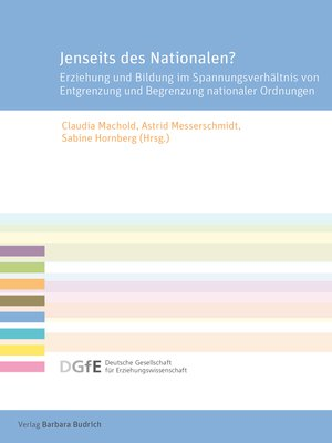 cover image of Jenseits des Nationalen?
