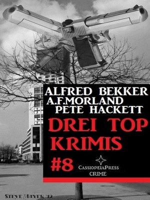 cover image of Drei Top Krimis #8