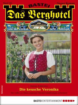 cover image of Das Berghotel 184--Heimatroman