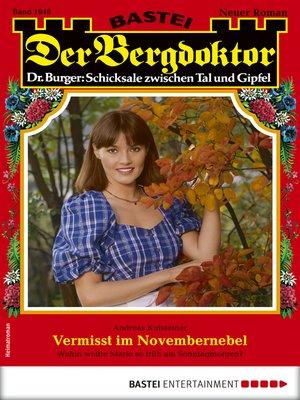 cover image of Der Bergdoktor 1946--Heimatroman