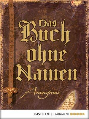 cover image of Das Buch ohne Namen