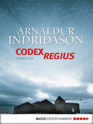 cover image of Codex Regius