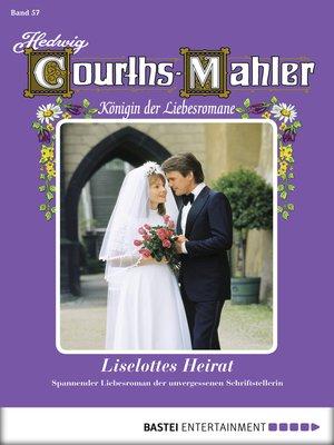 cover image of Hedwig Courths-Mahler--Folge 057