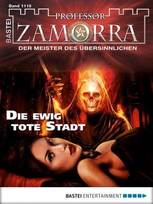 cover image of Professor Zamorra--Folge 1115