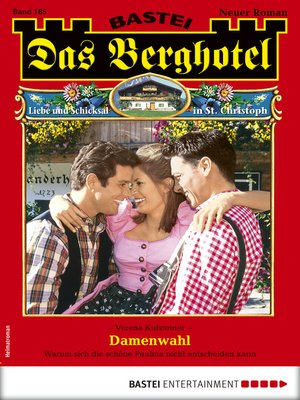 cover image of Das Berghotel 185--Heimatroman