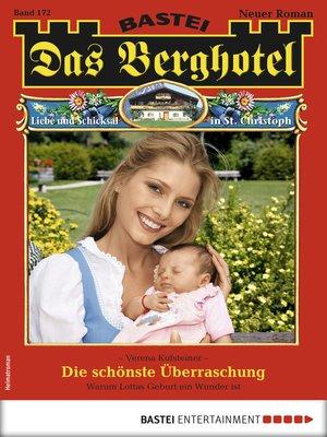 cover image of Das Berghotel 172--Heimatroman