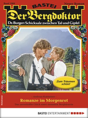 cover image of Der Bergdoktor 1900--Heimatroman