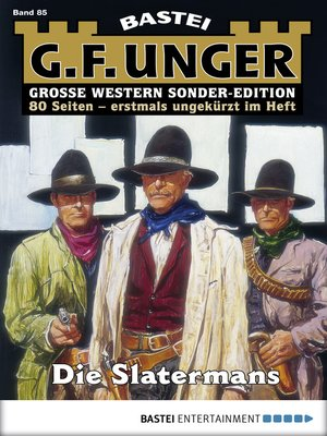 cover image of G. F. Unger Sonder-Edition 85--Western