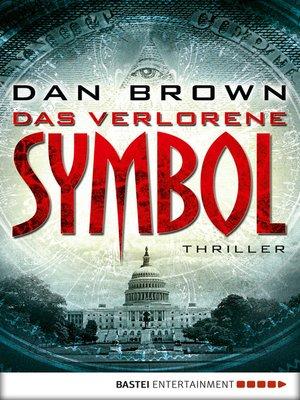 cover image of Das verlorene Symbol