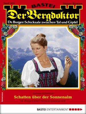 cover image of Der Bergdoktor 1978--Heimatroman