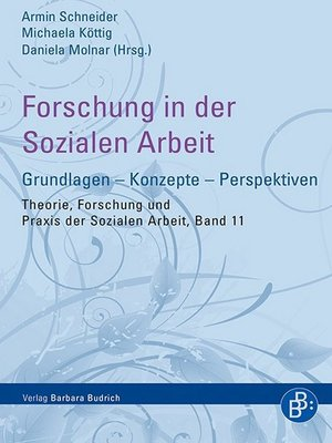 cover image of Forschung in der Sozialen Arbeit