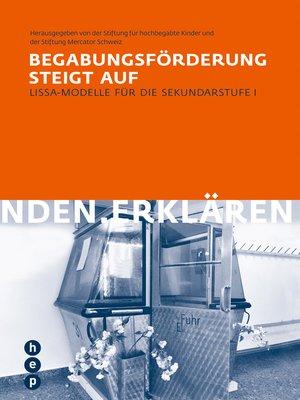 cover image of Begabungsförderung steigt auf