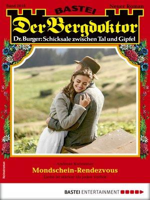cover image of Der Bergdoktor 2016--Heimatroman