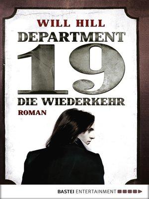 cover image of Department 19--Die Wiederkehr
