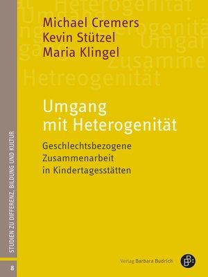 cover image of Umgang mit Heterogenität