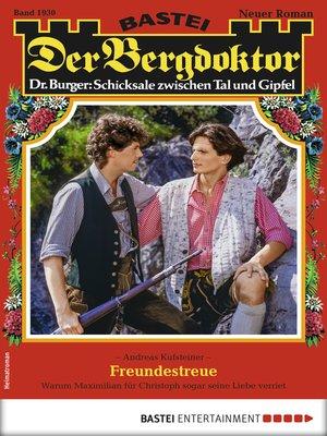 cover image of Der Bergdoktor 1930--Heimatroman