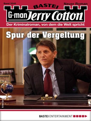 cover image of Jerry Cotton 3245--Krimi-Serie