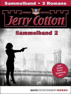 cover image of Jerry Cotton Sonder-Edition Sammelband 2--Krimi-Serie