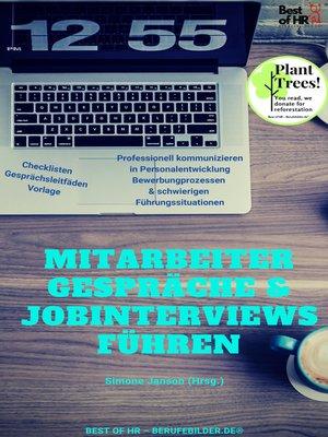 cover image of Mitarbeiter-Gespräche & Jobinterviews führen