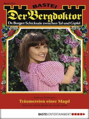cover image of Der Bergdoktor--Folge 1721