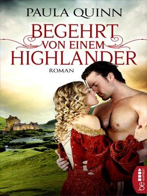 cover image of Begehrt von einem Highlander
