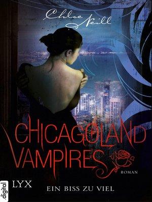 cover image of Chicagoland Vampires--Ein Biss zu viel