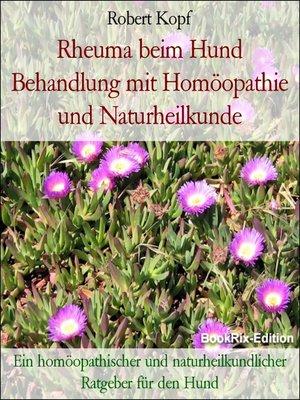 cover image of Rheuma beim Hund Behandlung mit Homöopathie und Naturheilkunde