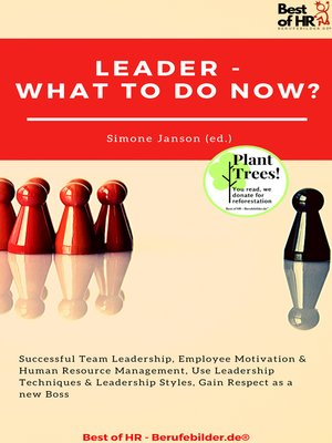 cover image of Leader--What to Do Now?