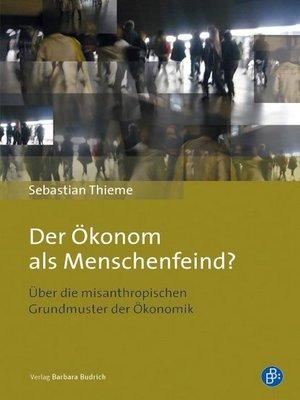 cover image of Der Ökonom als Menschenfeind?