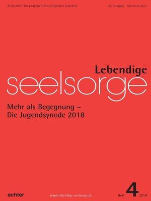 cover image of Lebendige Seelsorge 4/2018