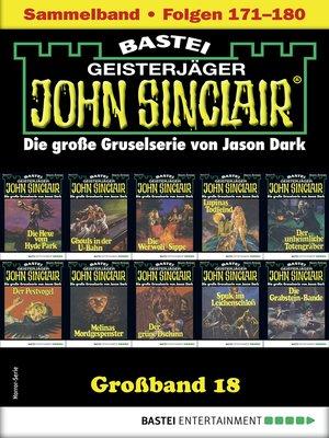 cover image of John Sinclair Großband 18--Horror-Serie