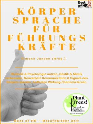 cover image of Körpersprache für Führungskräfte