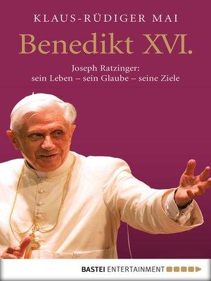 cover image of Benedikt XVI.