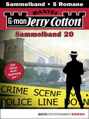 cover image of Jerry Cotton Sammelband 20--Krimi-Serie