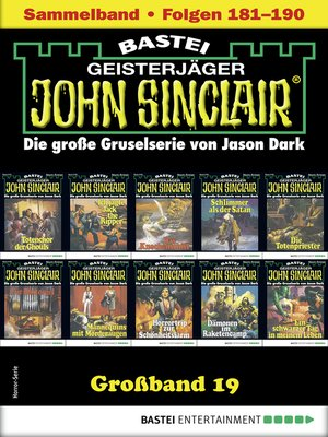 cover image of John Sinclair Großband 19--Horror-Serie