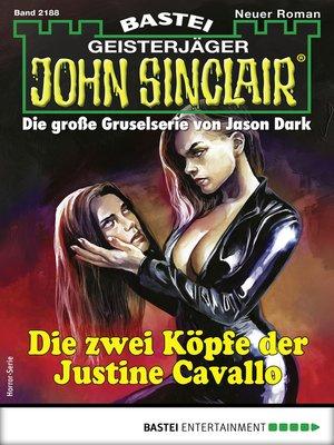 cover image of John Sinclair 2188--Horror-Serie