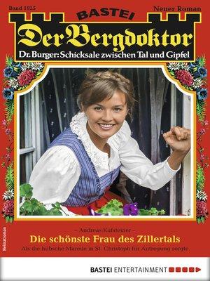 cover image of Der Bergdoktor 1925--Heimatroman