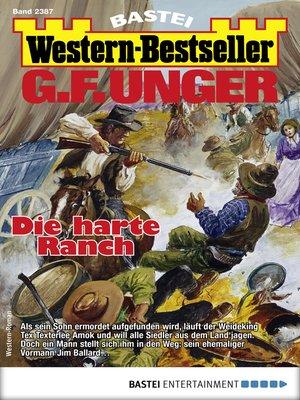 cover image of G. F. Unger Western-Bestseller 2387--Western