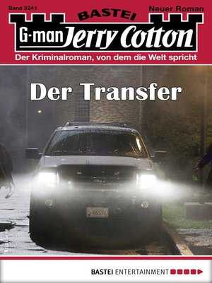 cover image of Jerry Cotton 3241--Krimi-Serie
