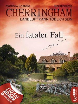 cover image of Cherringham--Ein fataler Fall