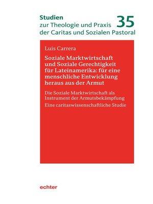 cover image of Soziale Marktwirtschaft und Soziale Gerechtigkeit für Lateinamerika